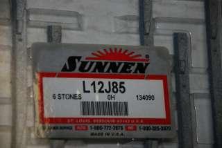 Sunnen L12J85 L12 J85 Grinding Honing Stones Hone Pack of 6 INV234