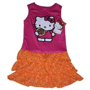 Sanrio Hello Kitty Dress Set Girl Size 6 Donut
