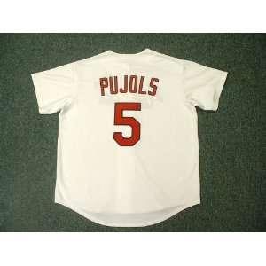 ALBERT PUJOLS St. Louis Cardinals Majestic Home Baseball