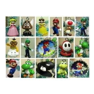 Nintendo Super Mario Brothers 20 Piece Holiday Christmas