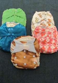 Rumparooz One Size Pocket Cloth Diapers   Various Colors/Prints