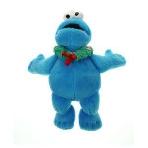 Sesame Street Cookie Monster Christmas Plush 6 Magnatudes