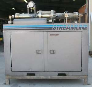 INGERSOLL RAND WATER JET SYSTEM STREAMLINE, MODEL DUAL/75, H.P. CYL