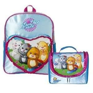 Zhu Zhu Pets Backpack and Lunch Box Kit   Blue Toys