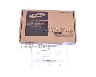 Samsung WMN2050B1 Ultra Slim Wall Mount for 2011 LED 46 60 Mounts