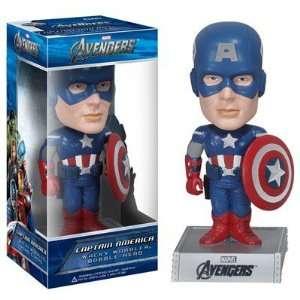 Funko Avengers Movie Captain America Wacky Wobbler Toys