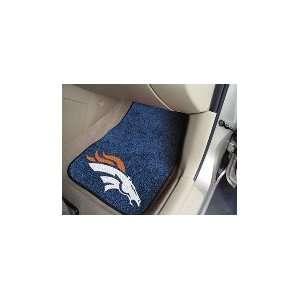 NFL Denver Broncos   Car Mats 2 Piece Front (18x27