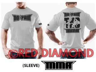 WHITE T SHIRT   UFC   TRAINING   GYM   CAGE FIGHT   MUAY THAI