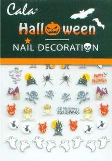 Cala Nail Art HALLOWEEN Decals Stickers 86400F