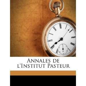 Edition) (9781149278055) France) Institut Pasteur (Paris Books