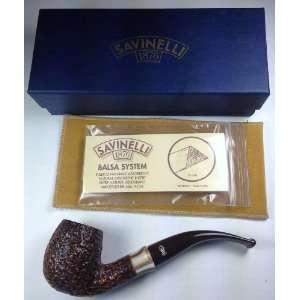 Savinelli Carmella Rustic (602) Tobacco Pipe Everything