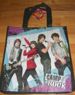 NEW Disney Camp Rock Reusable Grocery Shopping Bag Tote
