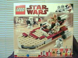 LEGO STAR WARS LUKES LANDSPEEDER LEGOS 163 PCS NEW