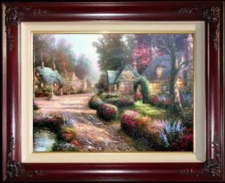 Lane RARE 24x30 A/P Framed Limited Ed. Thomas Kinkade Canvas