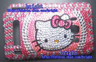 New hello Kitty Bling Full Case for HTC Sprint EVO 4G