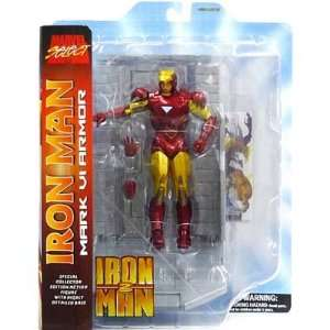 Iron Man 2 Marvel Select Iron Man Action Figure Toys & Games