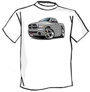Dodge Ram 1500 Pickup Muscle Car Cartoon Tshirt FREE