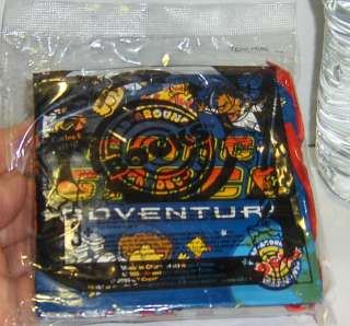 Kids Meal Wacky Pack Read Around Books Kit MIP Space Adventures