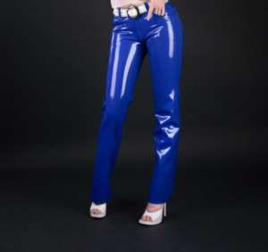 Latex Rubber/Catsuit/Costume/Slim trousers/party/Suit