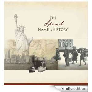 The Spand Name in History: Ancestry  Kindle Store