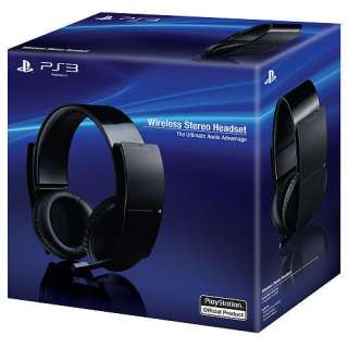 100% Official SONY Playstation 3 Wireless Stereo 7.1 Headset PS3 New