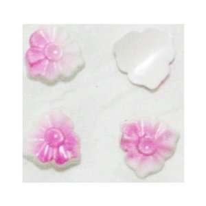Zink Color Nail Art Blush Pink Curve Lily 4Pc