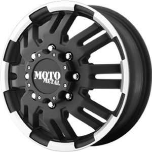 Moto Metal MO963 16x6 Black Wheel / Rim 8x170 with a 111mm Offset and