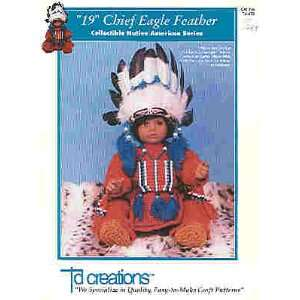 19 Chief Eagle Feather Collectible Native American Series