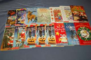 15 HOLIDAY chapter books CHRISTMAS EASTER HALLOWEEN great for a