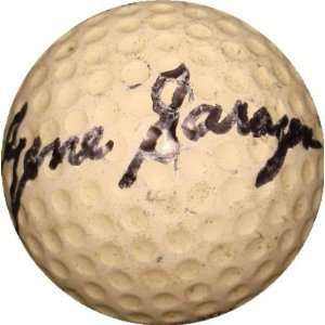 Gene Sarazen autographed Golf Ball  Sports & Outdoors