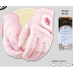 HJ Ladies Solite Golf Gloves Pair: Sports & Outdoors