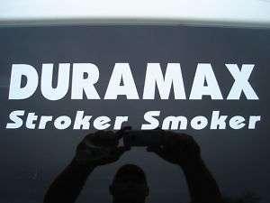 Chevy Chevrolet Duramax Diesel Decal Sticker