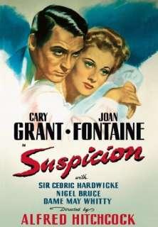 Suspicion Cary Grant, Joan Fontaine, Cedric Hardwicke