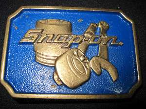 Vintage Snap On Tools Belt Buckle   Very Unique / Rare!