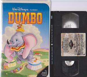 Dumbo (VHS, 1998) WALT DISNEY CLASSIC ANIMATION KIDS 012257024036