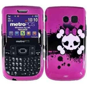 Pink Skull Hard Case Cover for Samsung Freeform 2 II R360