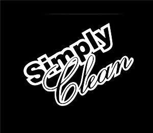 ONE 8 SIMPLY CLEAN STICKER/DECAL JDM FUNNY