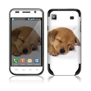 Samsung Vibrant T959 Skin Decal Sticker   Animal Sleeping