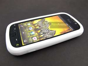 WHITE Soft Silicone Gel Skin Case Cover HTC myTouch 4G