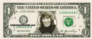 Pink Floyd Band SET/7CELEBRITY DOLLAR BILL UNCIRCULATED MINT US