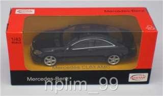 of 1/43 Scale Diecast Model Car Mercedes Benz CL63 AMG, Black color