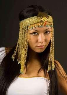 HEADPIECE EGYPTIAN SNAKE HEADBAND CLEOPATRA FANCY DRESS COSTUME