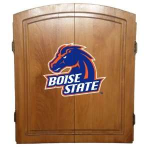 Boise State Officially Licensed College Dart Board Cabinet