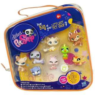 Littlest Pet Shop Collectors Pack 8 Pets Set (#1362 #1369), 1363,1364