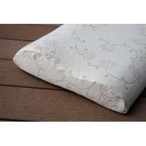 Suite Comfort Contoured Latex Rubber Pillow:  Home