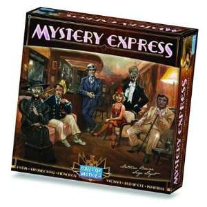 Mystery Express Board Game Toys & Games