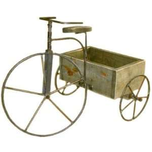 Antique Tricycle: Patio, Lawn & Garden