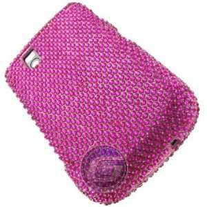 Hot Pink Jewel Protector Case Phone Cover for BlackBerry