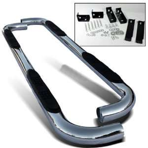 00 10 Chevy Tahoe 1/2 Ton 3 Stainless Chrome Side Step