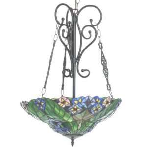 Coras Stained Glass Hanging Lamp Home Improvement